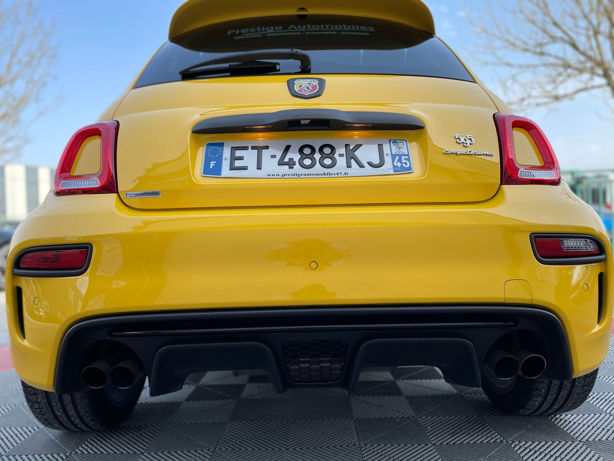 Abarth 500 180 595 COMPETIZIONE PACK PERFORMANCE