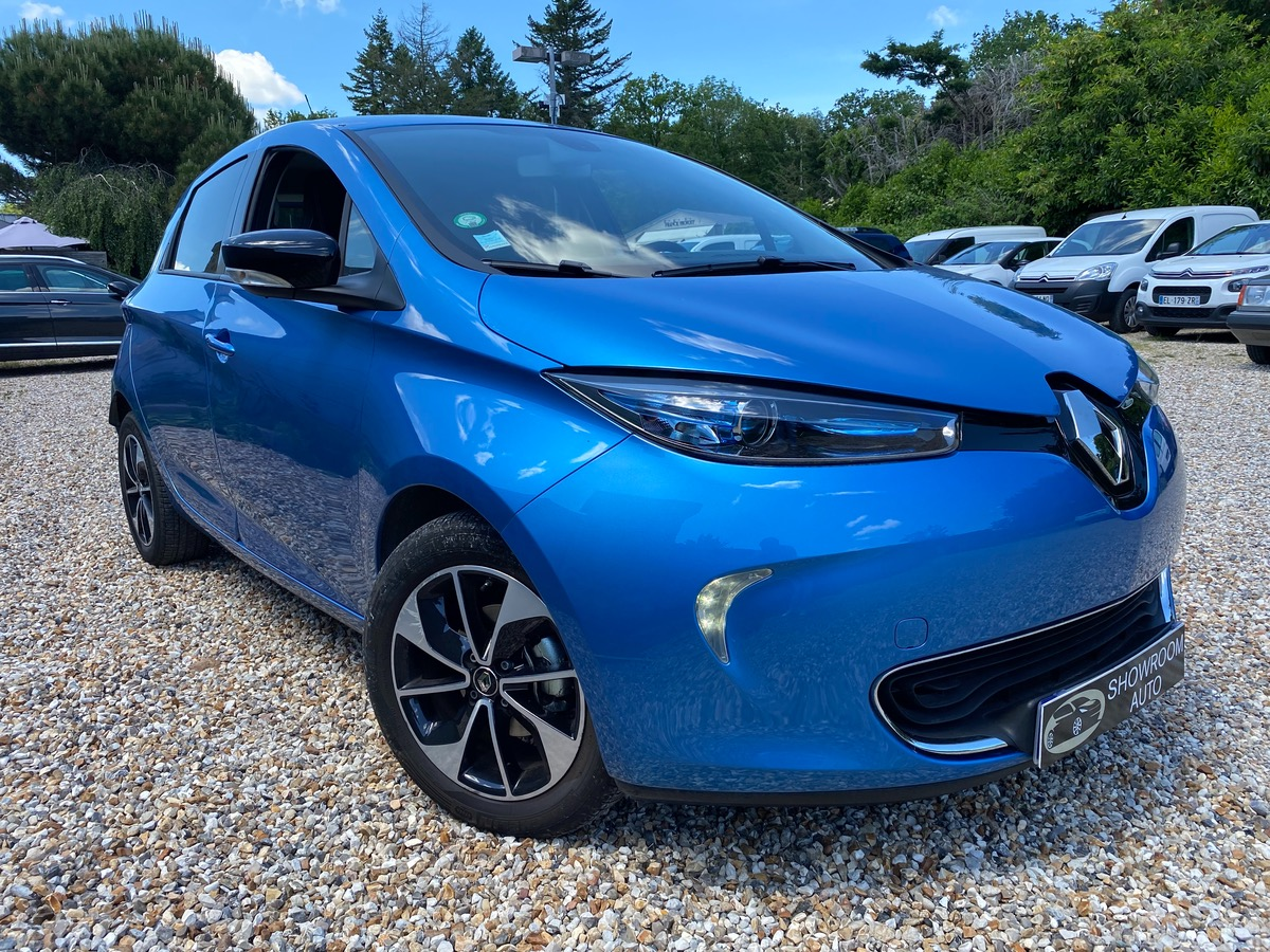 Renault Zoe INTENS CHARGE RAPIDE 01