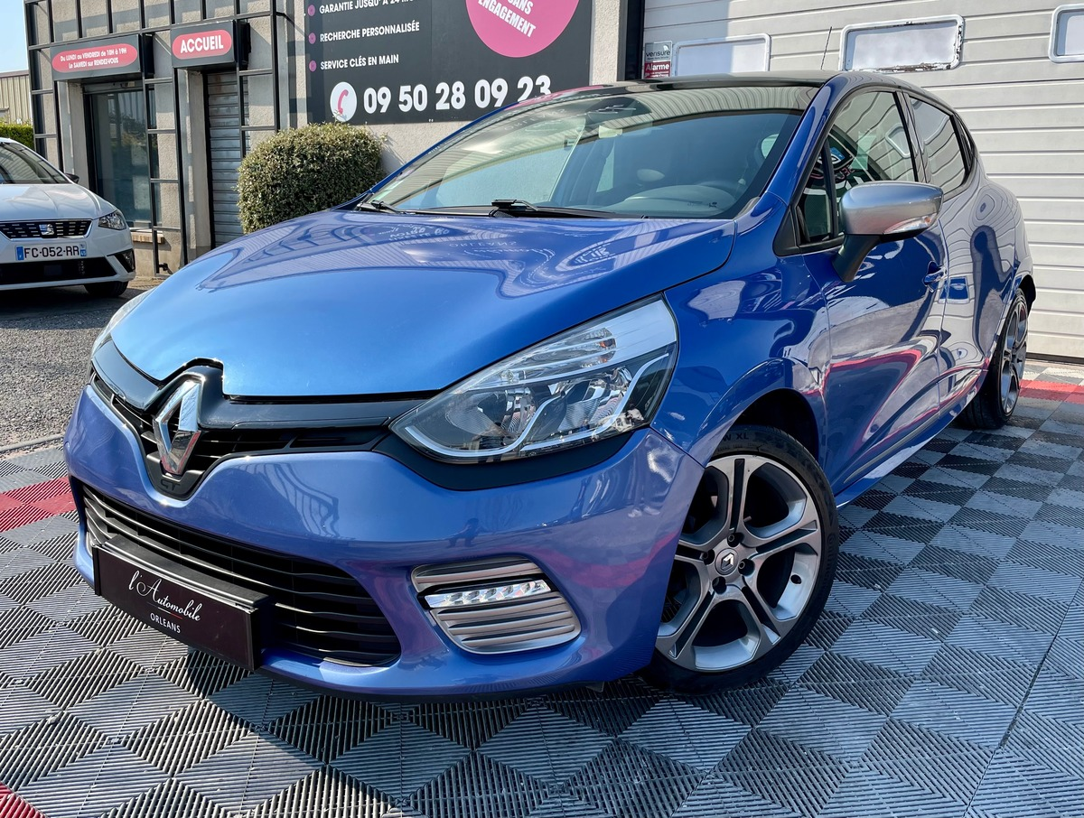 Renault Clio IV 4 GT 1.2 TCe 120 EDC