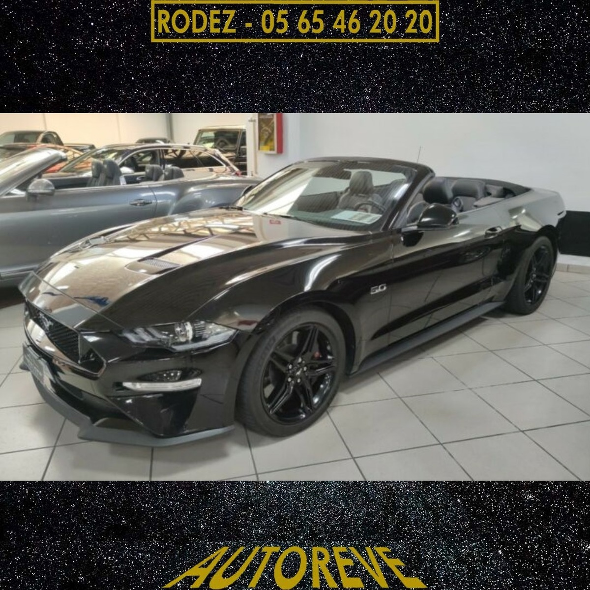 Ford Mustang GT Cabrio 450ps Automatique