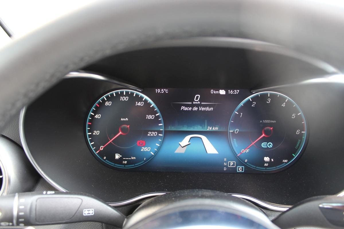 Mercedes GLC Coupé 300CHX AMG LINE 4MATIC hybride