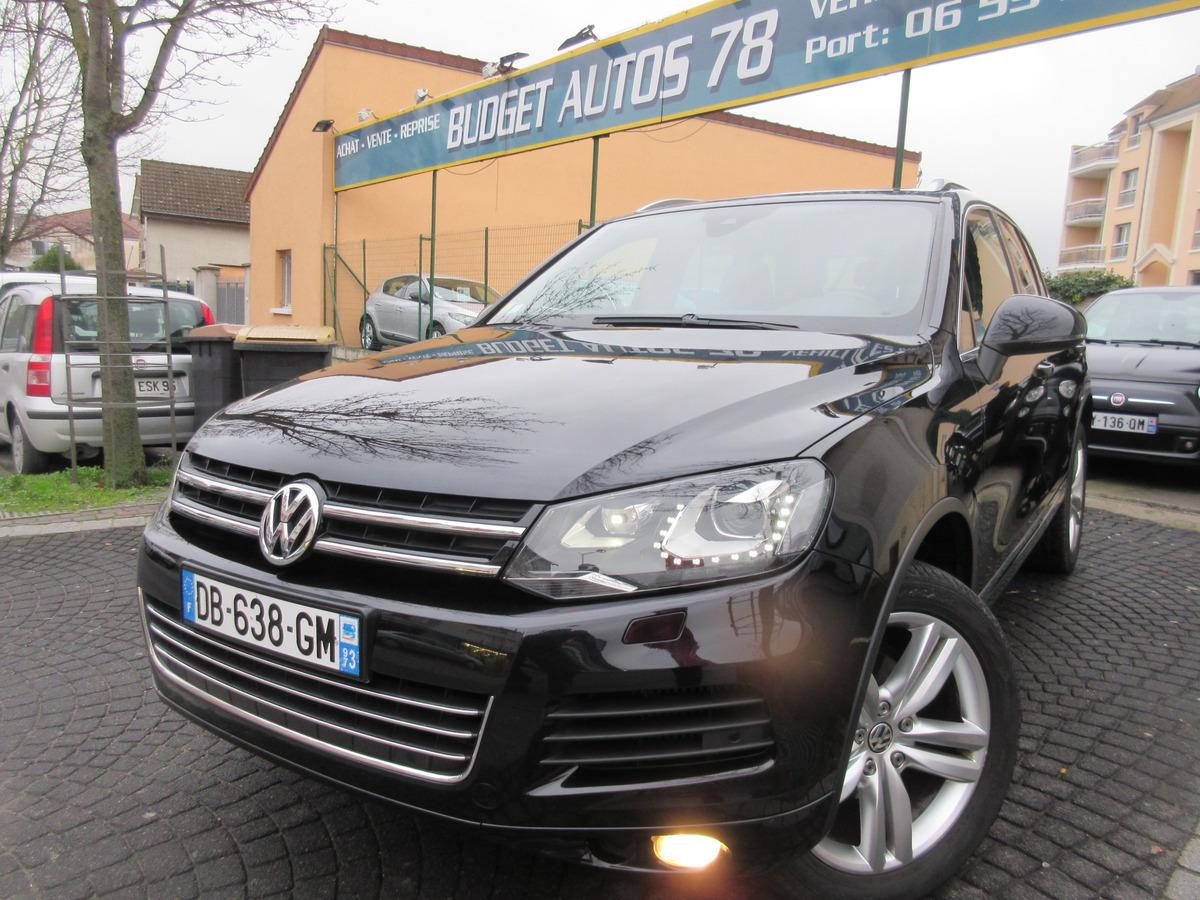 Volkswagen Touareg 2012 - Noir Métallisé - II 245 V6 TDII 3.0 R-LINE BLUMO