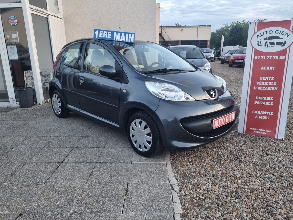 Peugeot 107 1.0 I 75 CH 85 000 KM 1 ER MAIN