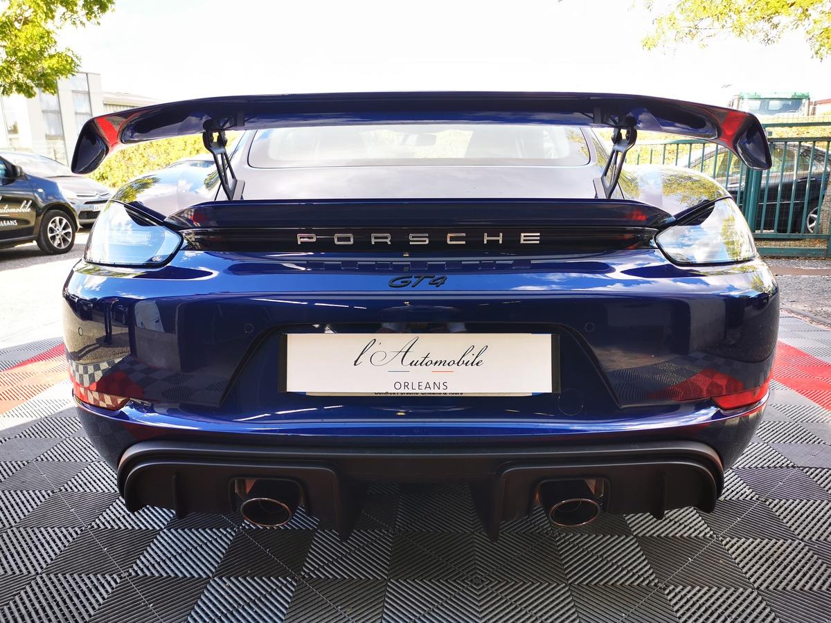 Porsche 718 GT4 4.0 420 1° main France