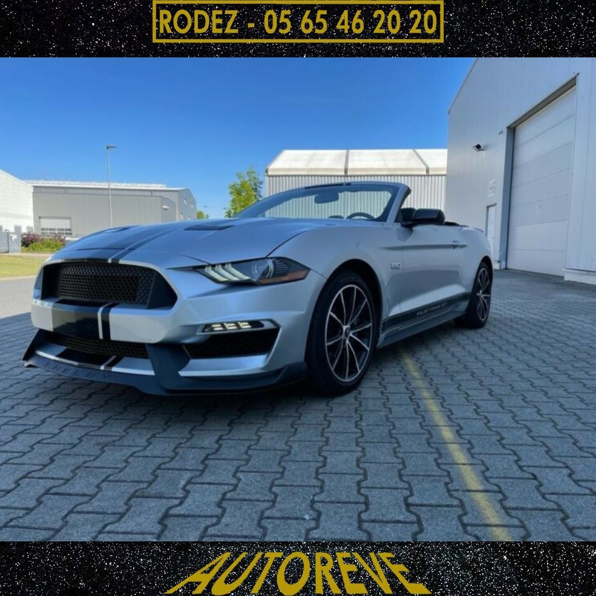 Ford Mustang abrio 5.0 V8 GT 2019 Facelift