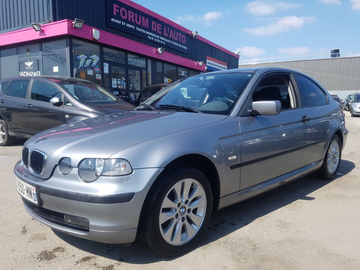 Bmw Serie 3  318TD COMPACT PACK SPORT 110MKM