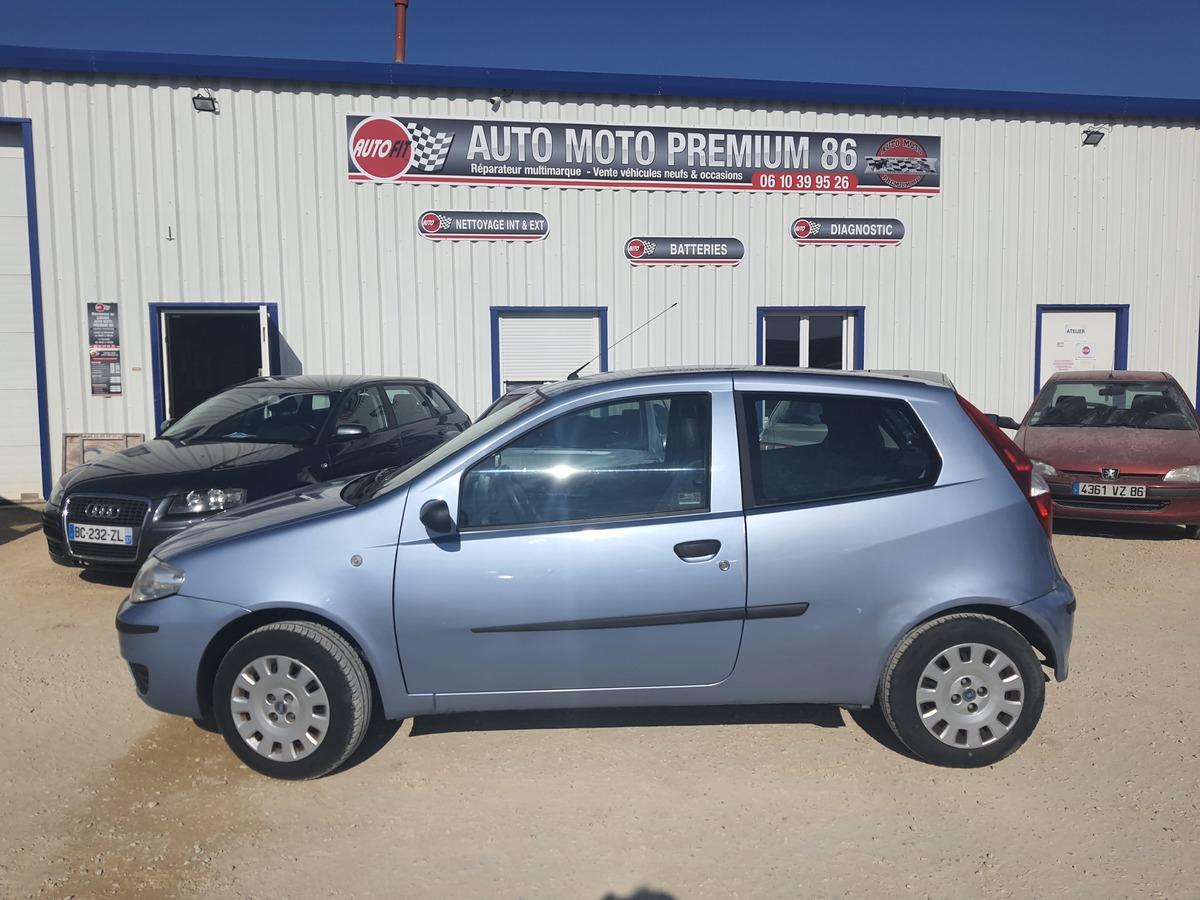 Fiat Punto STEEL CLIM 1.2i 60CH  GARANTIE 3MOIS