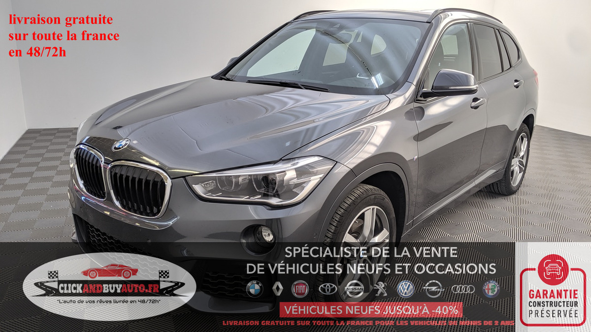 Bmw X1 SDRIVE 20I 192 STEPTRONIC 7 M-SPORT DF FRT