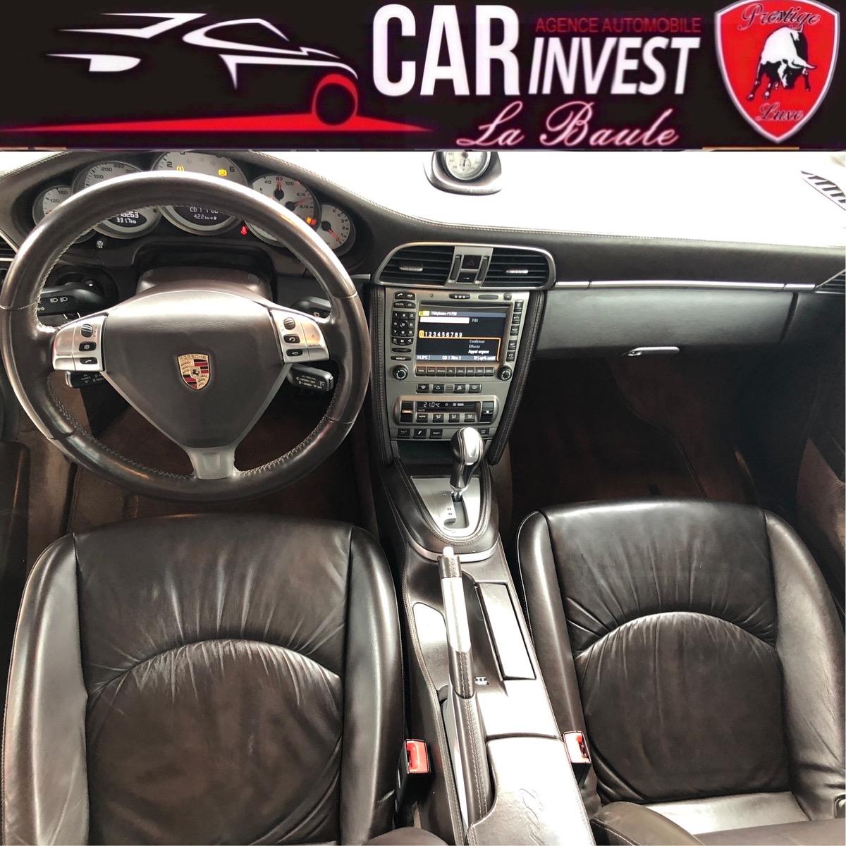 Porsche 911 targa 3.8i - bva tiptronic luxe