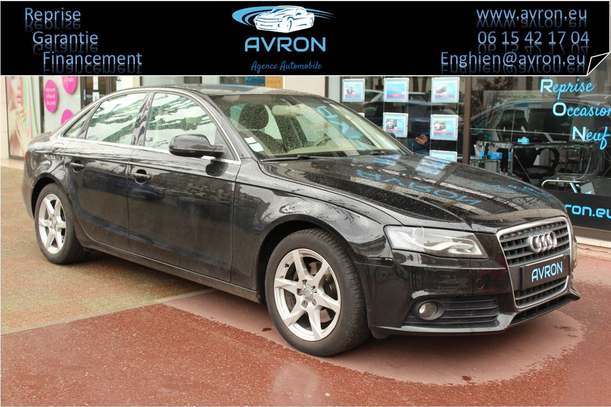 Audi A4 IV 2.0 TDI 143ch DPF AMBITION LUXE
