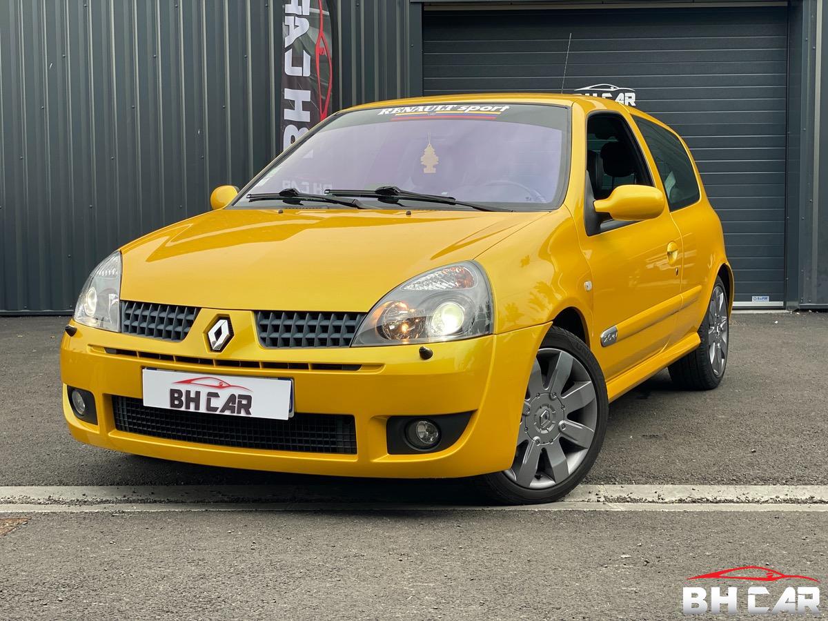 Renault Clio 2.0i 16v - 182CV JAUNE SIRIUS PACK