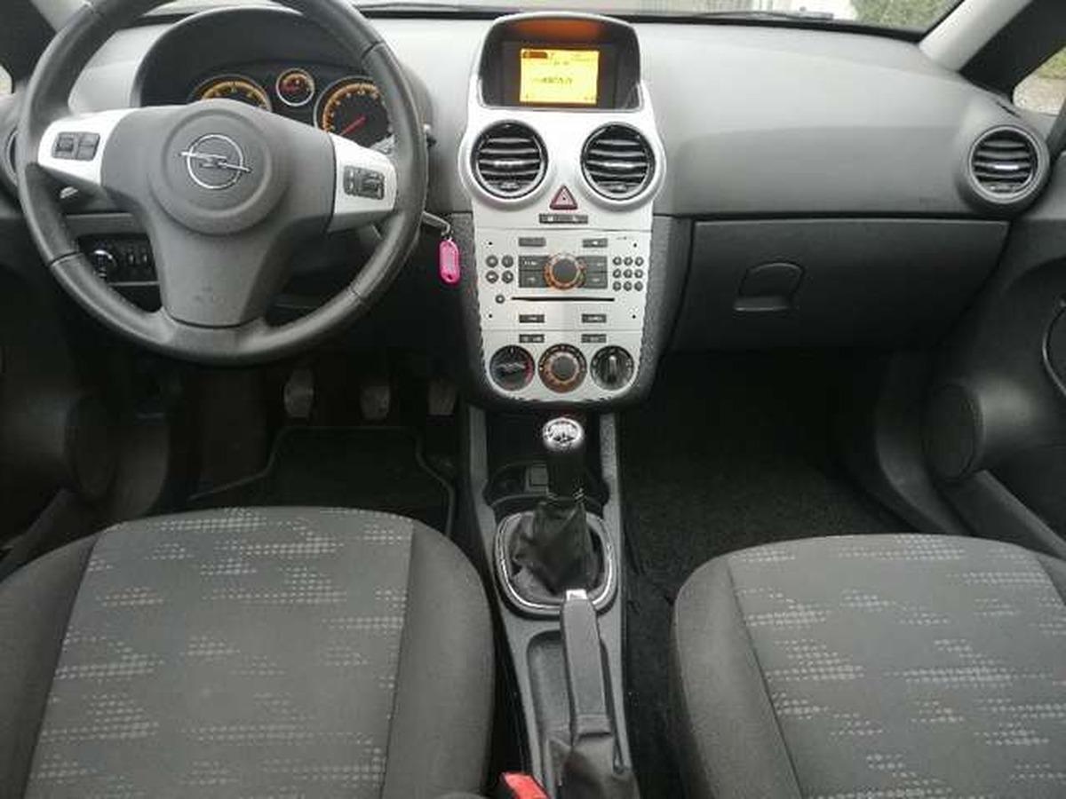 Opel Corsa 1.2 3 p 11.2011 77000 km Clim JA Nickel