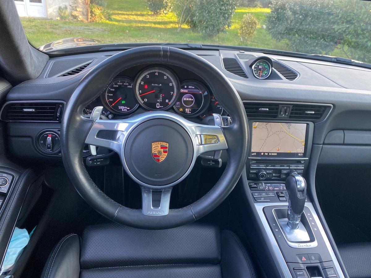 Porsche 911 Type 991 turbo 3.8i - 560 - bv pdk