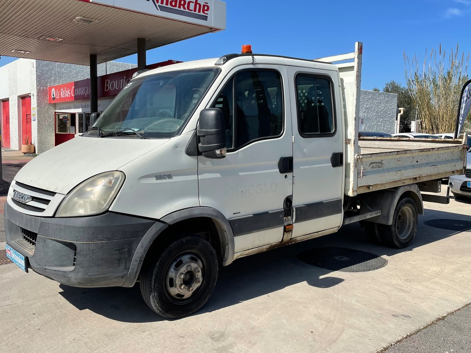 Iveco 35C15 3.0D TURBO 145Ch DAILY BENNE TVA